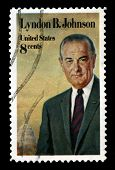 Lyndon B. Johnson Us Postage Stamp