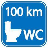Toilet Roadsign