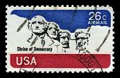 Mount Rushmore Us Airmail Postage Stamp