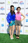 LOS ANGELES - JUL 27:  Vanessa Marano, Laura Marano at the Variety's Power of Youth  at Universal St