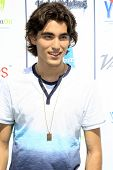 LOS ANGELES - JUL 27:  Blake Michael at the Variety's Power of Youth  at Universal Studios Backlot on July 27, 2013 in Los Angeles, CA