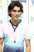 LOS ANGELES - JUL 27:  Blake Michael at the Variety's Power of Youth  at Universal Studios Backlot o