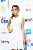 LOS ANGELES - JUL 27:  Kiernan Shipka at the Variety's Power of Youth  at Universal Studios Backlot