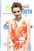LOS ANGELES - JUL 27:  Kaitlyn Dever at the Variety's Power of Youth  at Universal Studios Backlot on July 27, 2013 in Los Angeles, CA