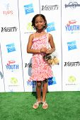 LOS ANGELES - JUL 27:  Quvenzhane Wallis at the Variety's Power of Youth  at Universal Studios Backl