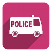 police flat icon