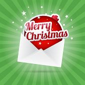 Merry Christmas Envelope