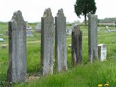 Tombstones In A Row