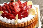 Strawberry Tart Pie