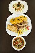 hornado roasted pork ecuadorian traditional food