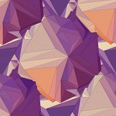 Geometric seamless background.