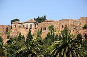 Gibralfaro castle, Malaga.