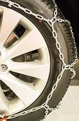 Winter tire chains