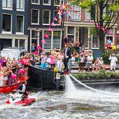 Amsterdam Canal Parade 2014