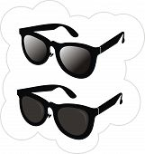 Sunglasses in fashion of  2010 year.