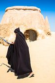 Nefta,Tunisia,August 15,2013:Scenography For George Lucas\'s Famous Movie Star Wars