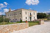 Madonna del Sabato Sanctuary. Minervino Murge. Puglia. Italy.