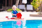 Baby At Pool