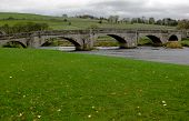 Bridge over the River Wharfe at Burnsall in the Yorkshire Dales