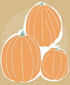Three Pumpkin Harvest