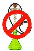 No Smoking Hookah Sign