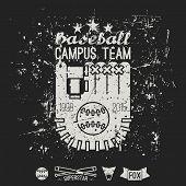 Emblem Baseball Campus Team