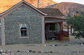 Bottle House in Rhyolite Ghost Town Nevada