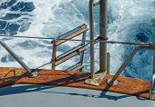 Yacht Sails On The Sea