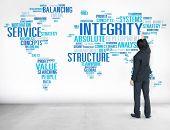 stock photo of honesty  - Integrity Honesty Sincerity Trust Reliability Concept - JPG