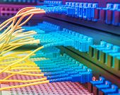 stock photo of raid  - fiber Network Server - JPG