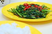 Asian Spicy Vegetables poster