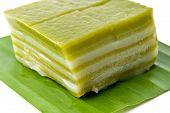 foto of chan  - Thai sweetmeat or Khanom Chan is a kind of sweet Thai dessert traditional thai dessert - JPG