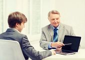 picture of older men  - business - JPG