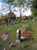 Cemetery In Autumn 5