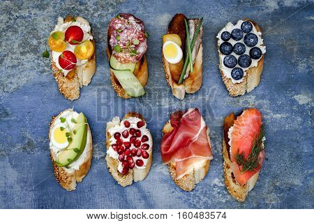Mini sandwiches food