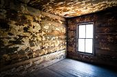 picture of decomposition  - Spooky Creepy Abandoned Farm House Neglected Rotten Decay Horror urbex photography - JPG