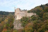 Castle Ruins Idar Oberstein,germany