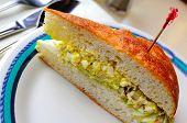 Single Egg Sandwich