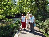 Seniors On The River Path