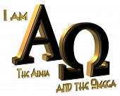 I Am The Alpha And Omega