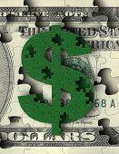 Постер, плакат: Деньги головоломки