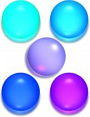 Glossy Spheres or buttons
