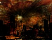 Explosion over NYC
