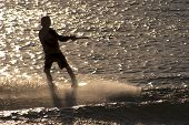 Wakeboard In Silhouette 2