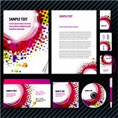 Eps 10 Template for Business artworks. Vector