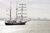 three master sailboat