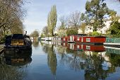 Houseboats, Little Venice, London