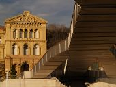 deusto university and bridge in a