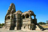 Vamana templo Brahma templo templo Javari, Khajuraho, Madhya Pradesh, Índia