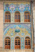 foto of tehran  - Mosaic wall of Golestan  palace - JPG